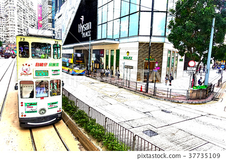 香港電車 37735109