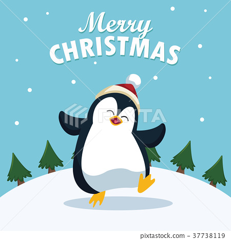 Merry christmas cartoon 37738119