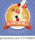 instant, oatmeal, label 37740864