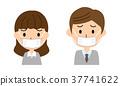 面具的男人和女人 37741622