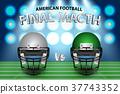 american, football, concept 37743352