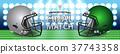 american, football, concept 37743358