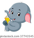 book, cute, elephant 37743545