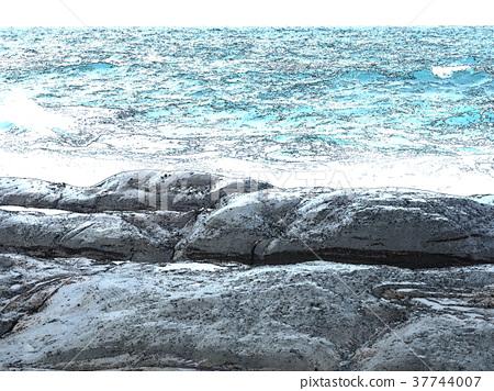 礁石 37744007