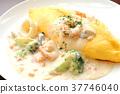 Cream Stew Omelette 37746040