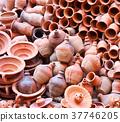 Handmade clay dishware 37746205