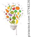 蔬菜 水果 淺 37748226