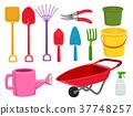 Garden Tools Illustration 37748257