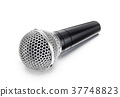 microphone, isolated, mic 37748823