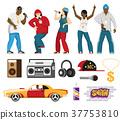 set, singer, rap 37753810