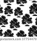 Lilac Bush Seamless 37754470