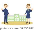 นักเรียนมัธยมปลาย,มัธยมปลาย,เด็กผู้หญิง 37755902
