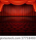 stage, curtain, auditorium 37758460