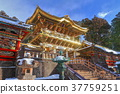 The Yomei Gate (Nikko Toshogu Shrine) after major repair 37759251