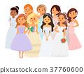 新娘 婚禮 插圖 37760600