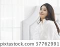 미소, 생활, 젊은여자 37762991