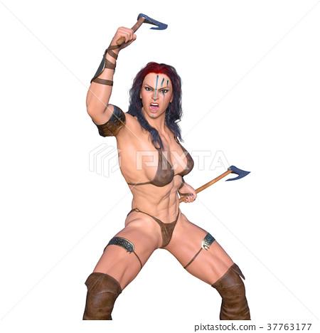 Female fighter 37763177