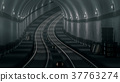 realistic old Subway metro tunnel 37763274