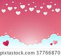 Valentines day background. 37766870
