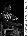 men during fitness and boxing. Sport and fitness 37767231