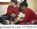 小学生 父母身份 父母和小孩 37769539