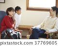 小学生 父母身份 父母和小孩 37769605