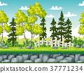 seamless, landscape, rural 37771234