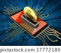 3d electronic circuit 37772180