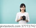 카메라 여자 37772742