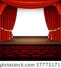 stage, curtain, auditorium 37773171