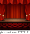stage, curtain, auditorium 37773181