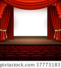 stage, curtain, auditorium 37773183