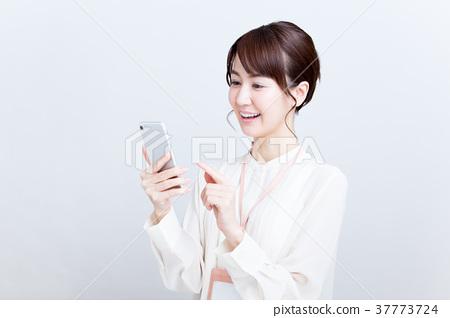 女商人(智能手機) 37773724