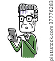 老人:智能手機 37776283