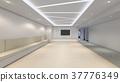 Modern Empty Room, 3D render interior design, mock up illustrati 37776349