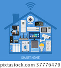 Smart Home and Internet of Things Concept 37776479