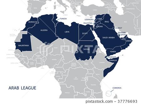 아랍, 나라, 국 37776693