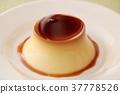 布丁 牛乳布丁 食物 37778526