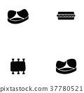 pork icon set 37780521