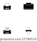 print icon set 37780534
