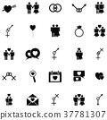 sexual icon set 37781307