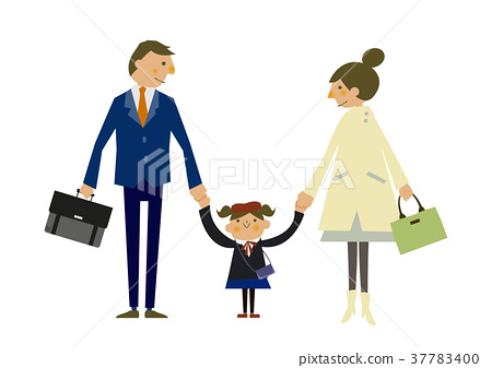 spring clothing, family, vector 37783400
