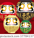 Japanese icons card, Japan traditional poster 37784137