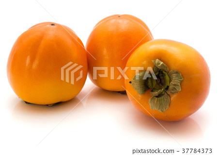 Persimmon sharon isolated on white 37784373