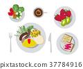 breakfast, omelette, omelet 37784916