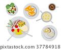 breakfast, omelette, omelet 37784918