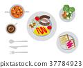 breakfast, omelette, omelet 37784923