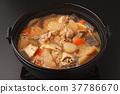 pork soup, pork miso soup, miso soup 37786670