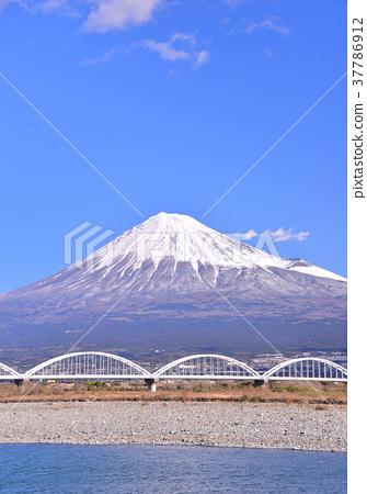 風景 富士山 堆 37786912