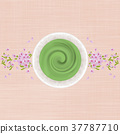 말차, 벚꽃, 봄 37787710